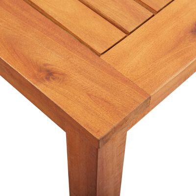 vidaXL Tuintafel 150x90x74 cm massief acaciahout