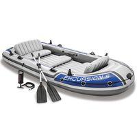 Intex Excursion 5 Opblaasboot met roeispanen en pomp 68325NP