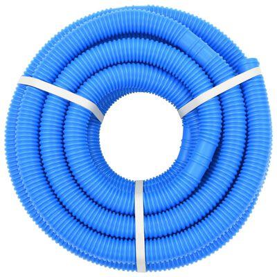 vidaXL Zwembadslang 38 mm 12 m blauw
