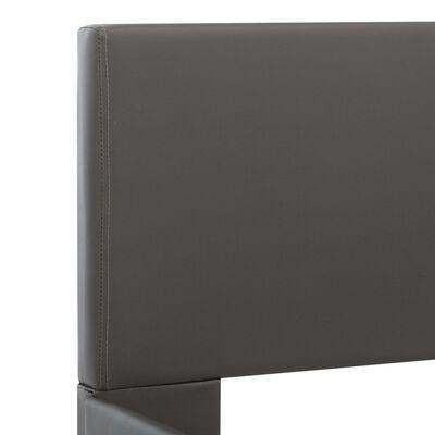 vidaXL Bedframe kunstleer grijs 120x200 cm