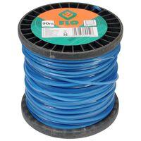 FLO Maaidraad 2,4 mm 90 m blauw