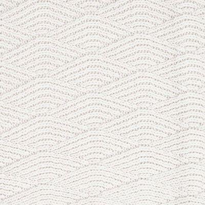 Jollein Deken River Knit 100x150 cm fleece crèmewit