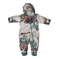 Lodger Sneeuwpak baby Skier - grijs/rood - 3-6 maanden