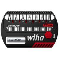 Wiha 9-delige Bitset Philips Pozidriv Torx Ty BitBuddy 29 mm