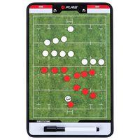 Pure2Improve Coach-bord dubbelzijdig rugby 35x22 cm P2I100670
