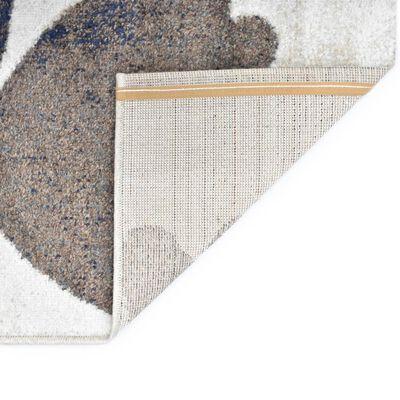 vidaXL Vloerkleed 80x150 cm PP grijs