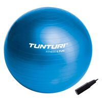 Tunturi fitnessbal 90 cm blauw