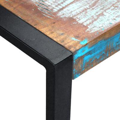 vidaXL Salontafel 80x80x40 cm massief gerecycled hout