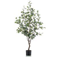 Emerald Artificial Eucalyptus Tree in Pot 120 cm