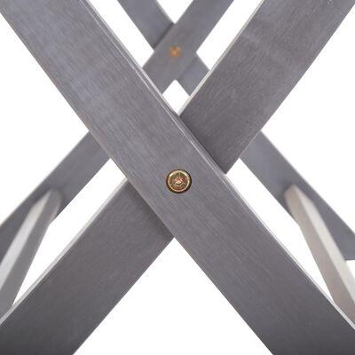 vidaXL Tuintafel inklapbaar 160x85x75 cm massief acaciahout