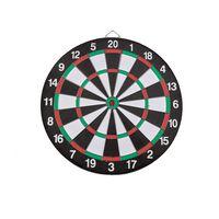 Basic Dartbord 37.5 Cm Met 6 Darts