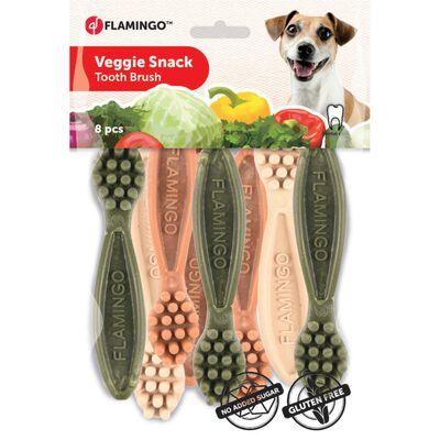 Veggie Tandenborstel 10cm 8st Mix