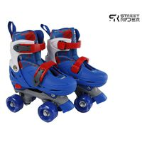 Street Rider Rolschaatsen verstelbaar 27-30 blauw