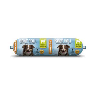 Fokker Dog Meat Roll verse Lam met Zalm 800gr,
