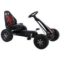 Volare Go Kart Racing Car groot met luchtbanden