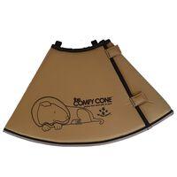 All Four Paws E-halsband Comfy Cone XXL 37,5 cm tan