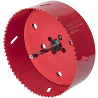 wolfcraft Gatenzaag 121 mm bimetaal rood 5497000