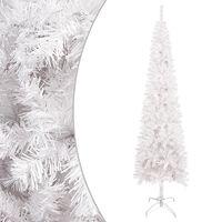 vidaXL Kerstboom smal 120 cm wit