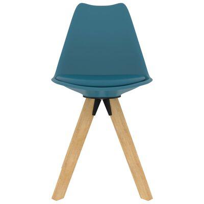 vidaXL 5-delige Eethoek turquoise