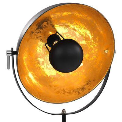 vidaXL Lamp staand E27 41 cm zwart en goud