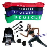 Fruscle® Suspension Trainer Weerstandsbanden Enkelstraps met Opbergtas