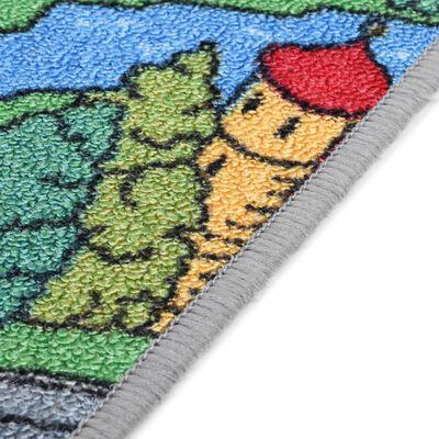 vidaXL Speeltapijt 170x290 cm lussenpool stadswegenpatroon