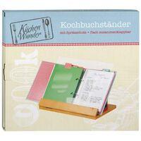 Moses Keukenwonder kookboekenstandaard bruin 33 cm