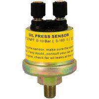 AutoStyle oliedruksensor 1/8''-27NPT 0-10 bar 3-160Ω