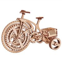Wood Trick Schaalmodelset Bicycle hout