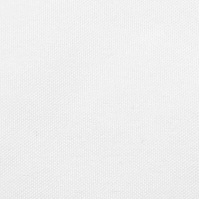 vidaXL Zonnescherm driehoekig 3x3x3 m oxford stof wit
