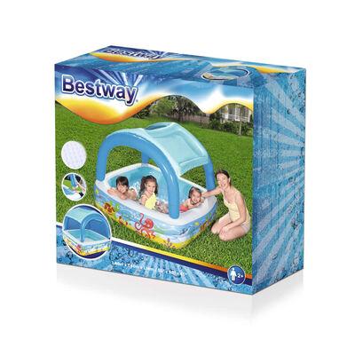 Bestway Speelbad met overkapping 140x140x114 cm blauw 52192,