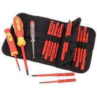 Draper Tools Spanningstester & schroevendraaier set 18-dlg 05776