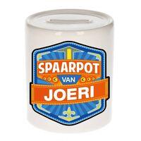 Kinder spaarpot voor Joeri - keramiek - naam spaarpotten