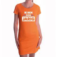 Oranje Ik ben ook jarig jurk - jurk voor dames - Koningsdag kleding M