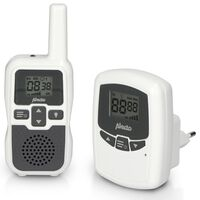 """Alecto Baby Monitor """"DBX-80"""" with Long Range White and Anthracite"""