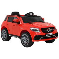 vidaXL Kinderauto Mercedes Benz GLE63S kunststof rood