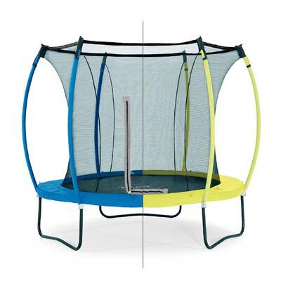 Plum trampoline Colours snorkelblauw/lime 8ft
