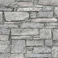 DUTCH WALLCOVERINGS Behang oude bakstenen grijs