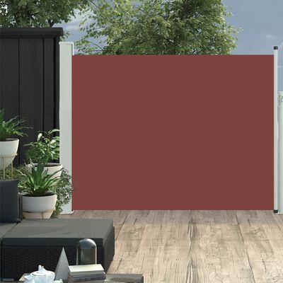 vidaXL Tuinscherm uittrekbaar 170x500 cm bruin, Brown