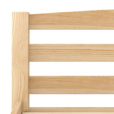 vidaXL Bedframe massief grenenhout 140x200 cm