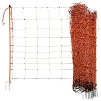 """Neutral Electrifiable Sheep Net """"OviNet"""" 90cm Orange"""
