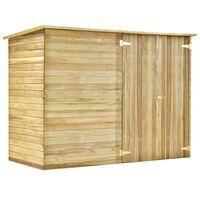 vidaXL Tuinschuur 232x110x170 cm geïmpregneerd grenenhout