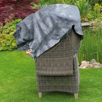 Nature Tuinmeubelhoes voor twee stapelstoelen 140x75x70 cm