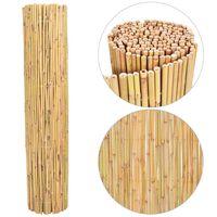 vidaXL Scherm 300x130 cm bamboe