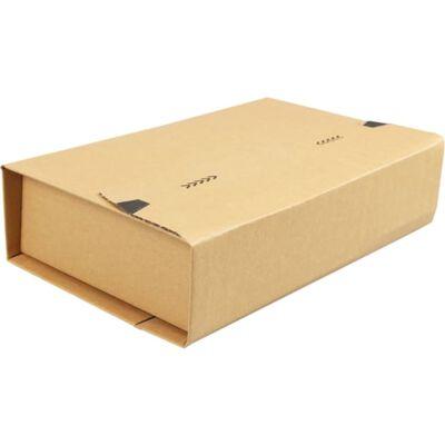 SendProof® Boekverpakking, Golfkarton, 300x220x80mm, bruin