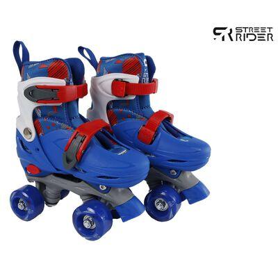 Street Rider Rolschaatsen verstelbaar 31-34 blauw,