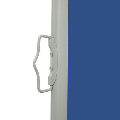 vidaXL Tuinscherm uittrekbaar 140x500 cm blauw