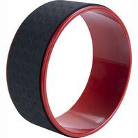 Pure2Improve Yogawiel 30 cm zwart en rood