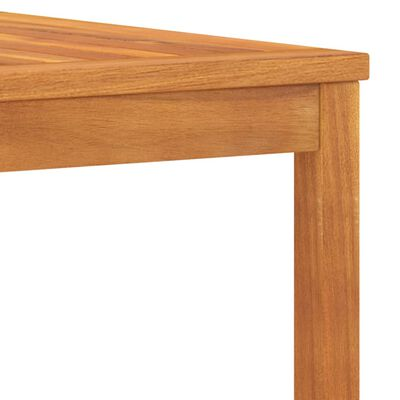 vidaXL Salontafel 100x50x33 cm massief acaciahout