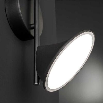 Wofi Wandlamp Chara Duo LED zwart